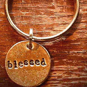 Blessed A Well Run Life The Blessed Key Chain ($19.99)