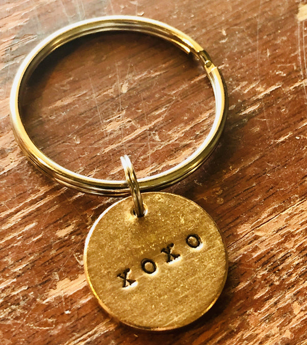 XOXO A Well Run Life The XOXO Key Chain