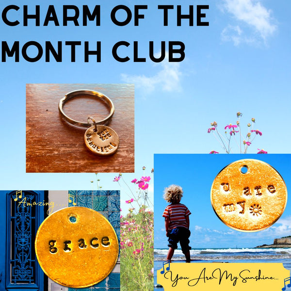 The Handmade Charm of the Month Club! A Well Run Life