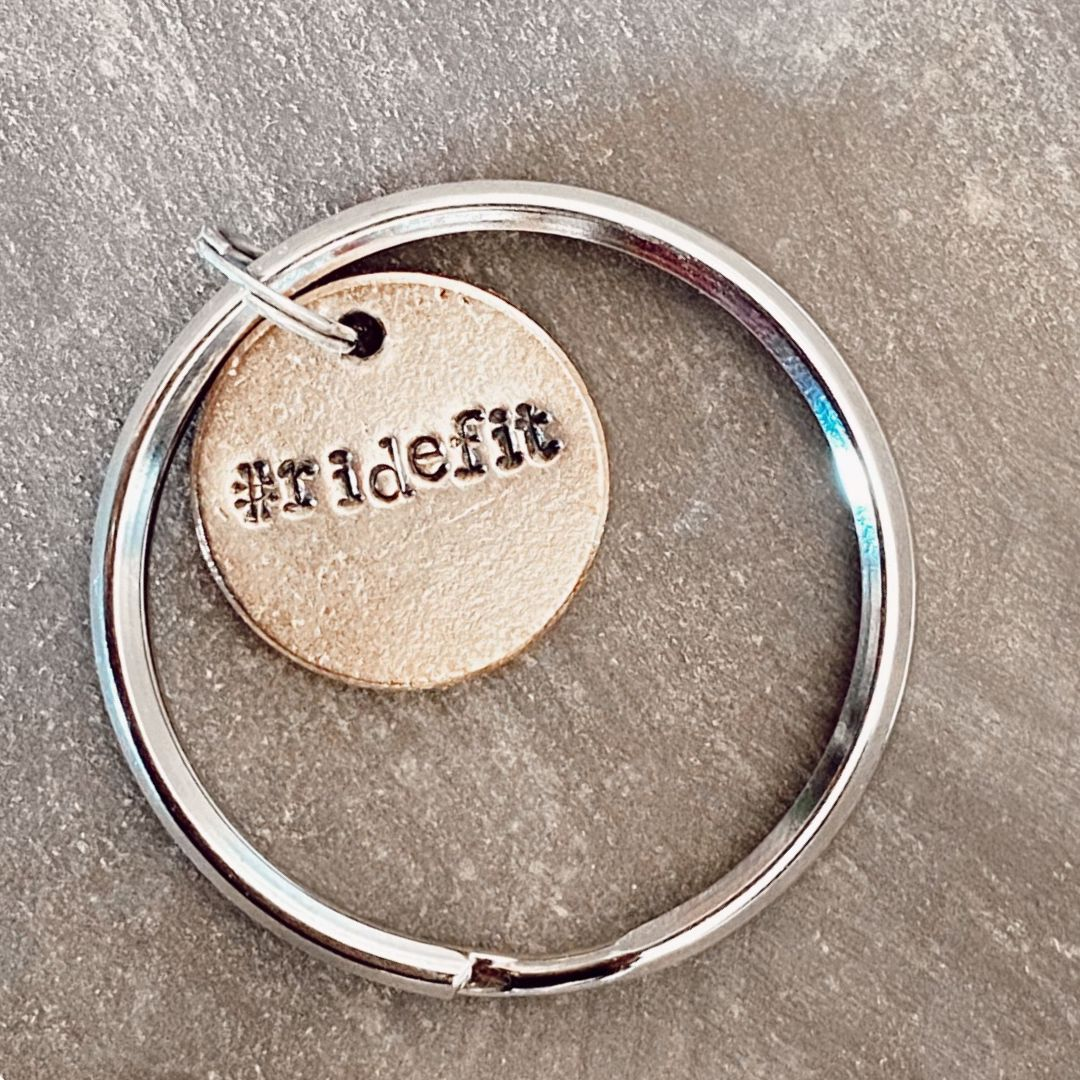 #ridefit And Support The Compton Junior Equestrians! A Well Run Life #ridefit Key Chain