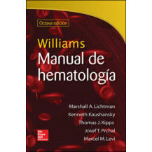 WILLIAMS. MANUAL DE HEMATOLOGIA-mcgraw hill-UNIVERSAL BOOKS