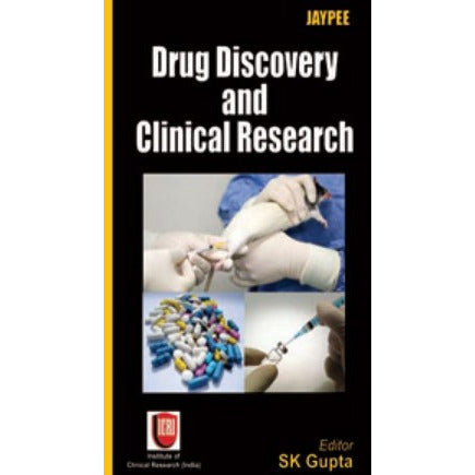 DRUG DISCOVERY AND CLINICAL RESEARCH (ICRI)- Gupta-UB-2017-jayppe-UNIVERSAL BOOKS