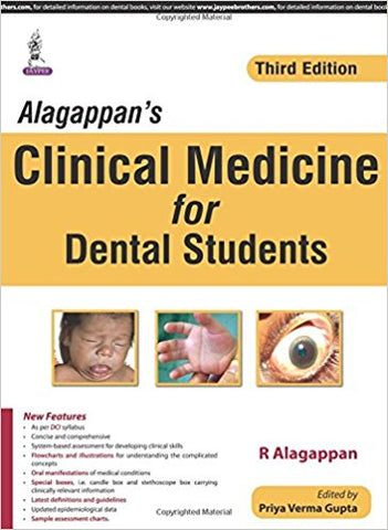 Alagappanƒ??s Clinical Medicine for Dental Students-jayppe-UNIVERSAL BOOKS