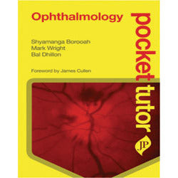 OPHTHALMOLOGY (POCKET TUTOR) -Borooah-jayppe-UNIVERSAL BOOKS