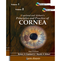 COPELAND AND AFSHARI'S PRINCIPLES AND PRACTICE OF CORNEA (2VOLS) WITH 3 DVD-ROMS -Copeland-jayppe-UNIVERSAL BOOKS