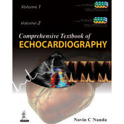 COMPREHENSIVE TEXTBOOK OF ECHOCARDIOGRAPHY (2 Volumes Set) -Nanda-jayppe-UNIVERSAL BOOKS