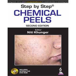 STEP BY STEP CHEMICAL PEELS -Khunger - UNIVERSAL BOOKS