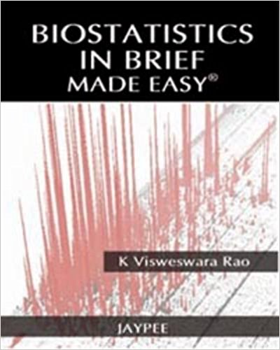 BIOSTATISTICS IN BRIEF MADE EASY -Rao Visweswara-jayppe-UNIVERSAL BOOKS