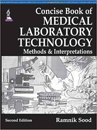 Concise Book of Medical Laboratory Technology Methods & Interpretations-UNIVERSAL 03.04-UNIVERSAL BOOKS-UNIVERSAL BOOKS