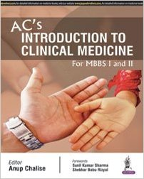 AC'S Introduction to Clinical Medicine (For MBBS I and II)-jayppe-UNIVERSAL BOOKS