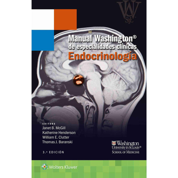 Manual Washington de especialidades clinicas. Endofrinolog¡a-lww-UNIVERSAL BOOKS