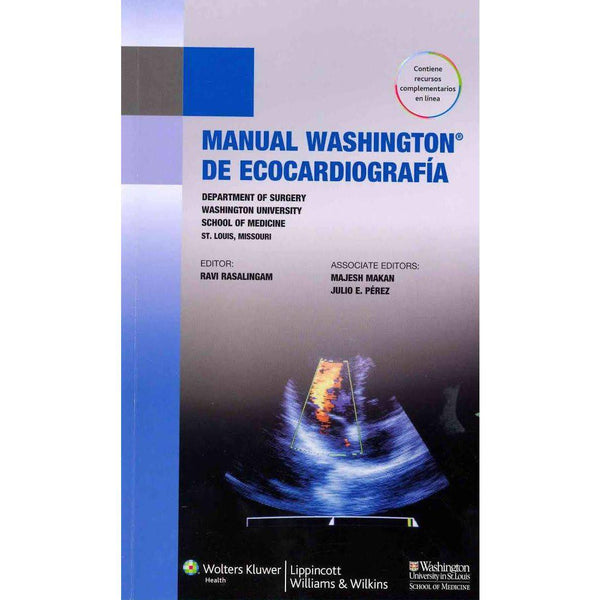 Manual Washington de ecocardiografia-lww-UNIVERSAL BOOKS