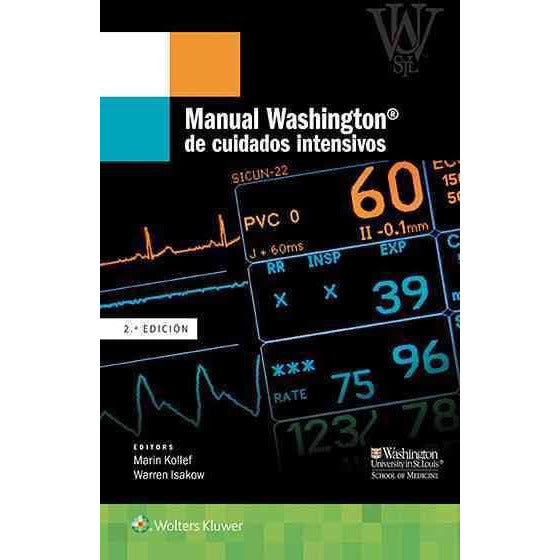 Manual Washington de cuidados intensivos-lww-UNIVERSAL BOOKS