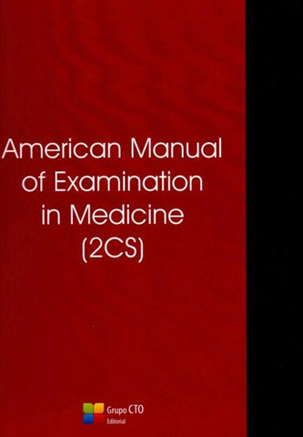 American manual of examination in medicine 2CS