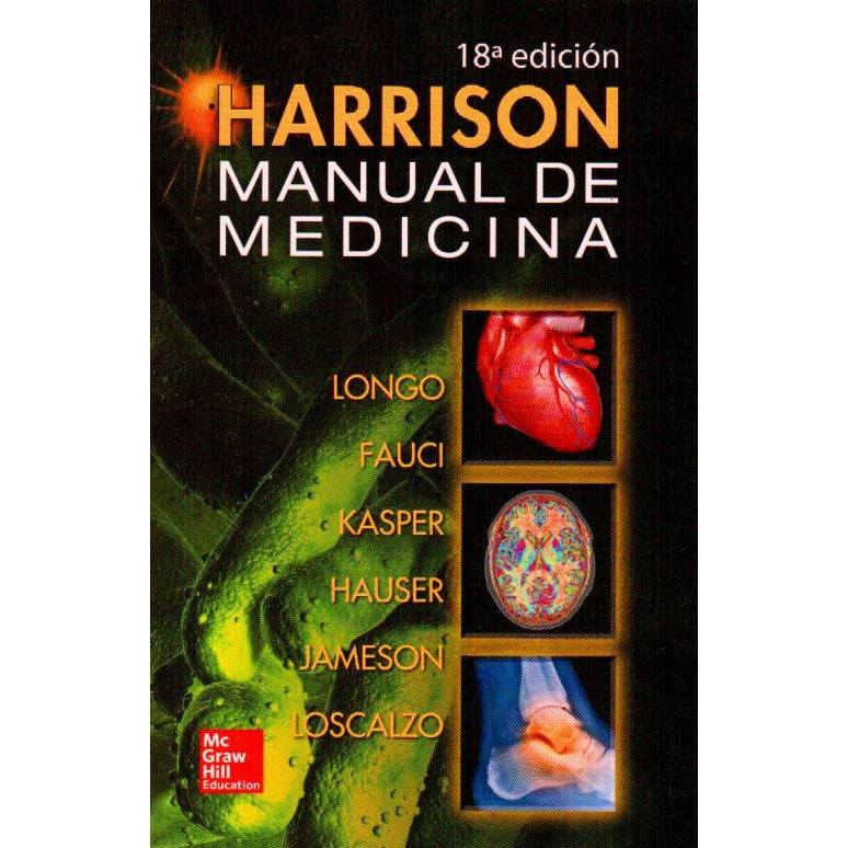 HARRISON. MANUAL DE MEDICINA-mcgraw hill-UNIVERSAL BOOKS