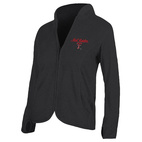 GS0235-NCAA Texas Tech University Women's Baby French Terry Jacket