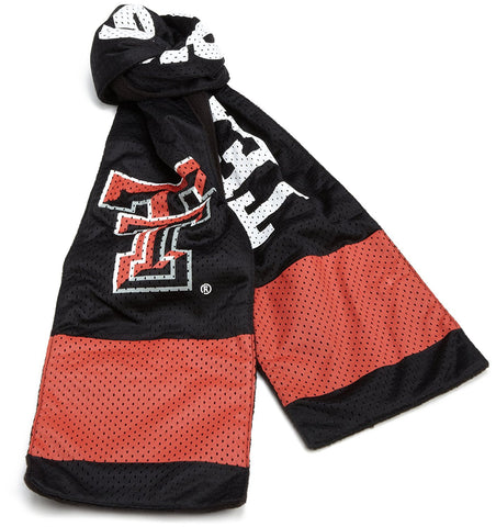 GS0238-NCAA Jersey Scarf -TEXAS TECH