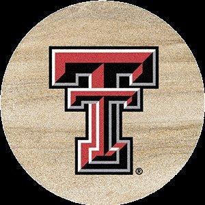 GS0241-Drink Coaster Set, Texas Tech University