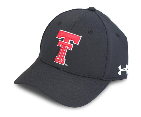 GS242-NCAA Dri-Fit Stretch Cap - TEXAS TECH