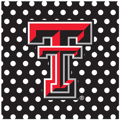 GS0247-Occasions Square Trivet, Texas Tech University, Multicolor