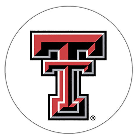 Stoneware Coaster Set, Texas Tech University