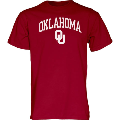 GS0291-Oklahoma Sooners Adult Arch Logo T-Shirt