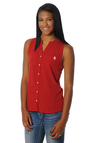 GS0294-NCAA Women's Tunic Tank Top -UNIVERSITY OF OKLAHOMA