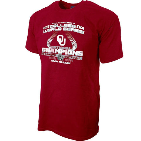GS0299-Oklahoma Sooners 2017 Women's College World Series Champions TShirt