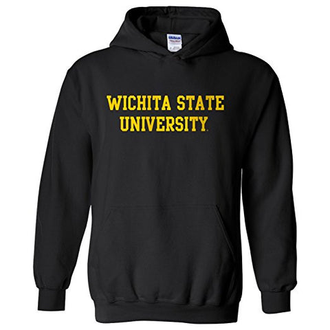 GS0421-NCAA Officially licensed College - WSU Color Basic Hoodie Sweatshirt