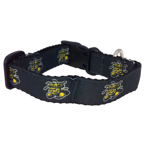 GS0428-NCAA Dog Collar -WSU