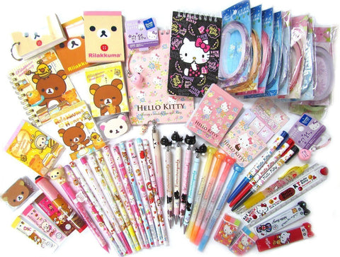GS7000007-10 of Assorted School Supply Stationary Set