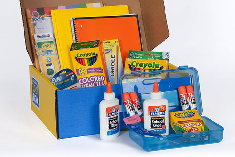 GS7000041-MEGA SCHOOL SUPPLIES KIT IN KEEPSAKE BOX
