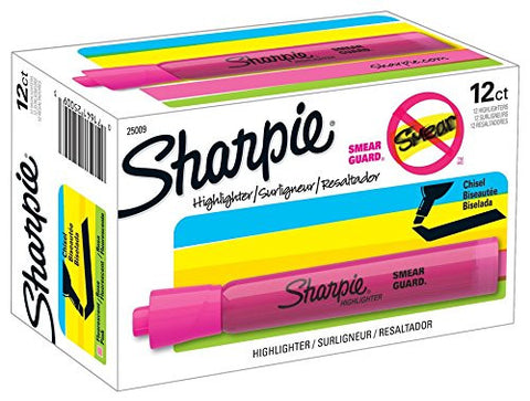 GS7000042- 12 PACK- SHARPIE TANK HIGHLIGHTERS