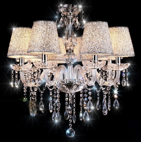 GS2185-CRYSTAL CHANDELIER