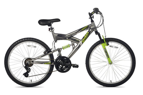 GS3000009-Northwoods Aluminum Full Suspension Mountain Bike