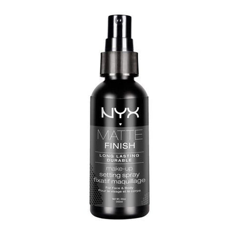 GS7011-NYX Cosmetics Make Up Setting Spray, Matte Finish/Long Lasting, 2.03 Ounce