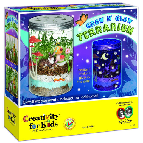 GS6052-Creativity for Kids Grow 'n Glow Terrarium