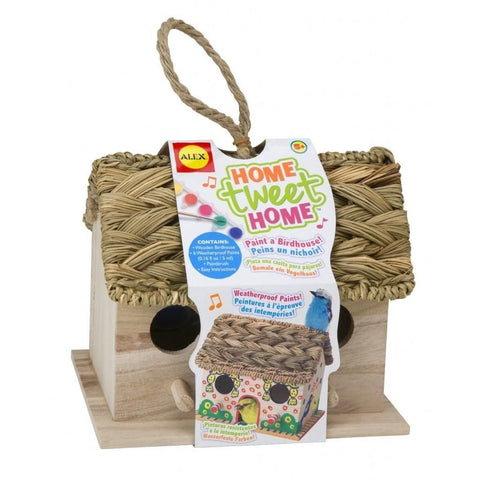 GS6054-ALEX Toys Craft Home Tweet Home Birdhouse Kit