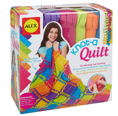 GS6057-ALEX Toys Craft Knot A Quilt Kit