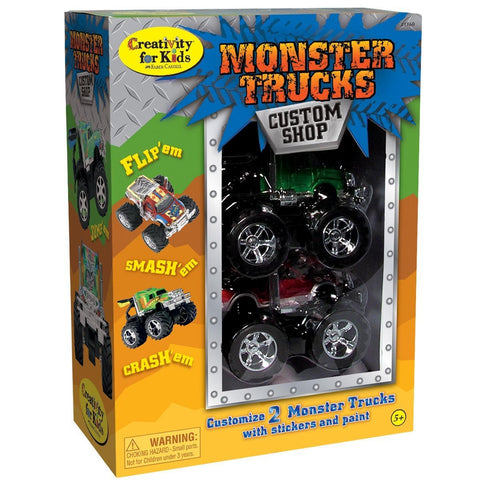 GS6061- Creativity for Kids Monster Trucks Custom Shop (2-Pack)