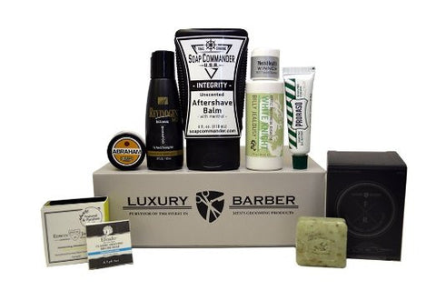 GS7004-Luxury Barber Men's Grooming Box - One of the Best Gifts for Men
