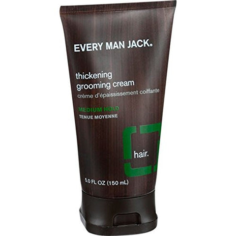 GS7006-Every Man Jack Thickening Grooming Cream, Tea Tree, 5 Fluid Ounce