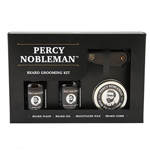 GS7009-Percy Nobleman Beard Grooming Kit Bundle Men