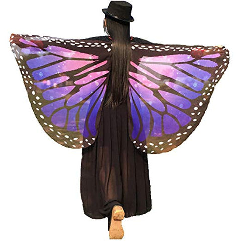 GSHALLO005-SOFT FABRIC BUTTERFLY WINGS COSTUME