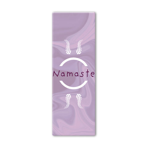 Purple Namaste Yoga Mat