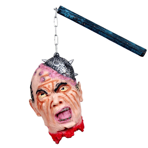 Halloween Zombie Head Decoration Funny Scary Model Figurine Statue for Halloween