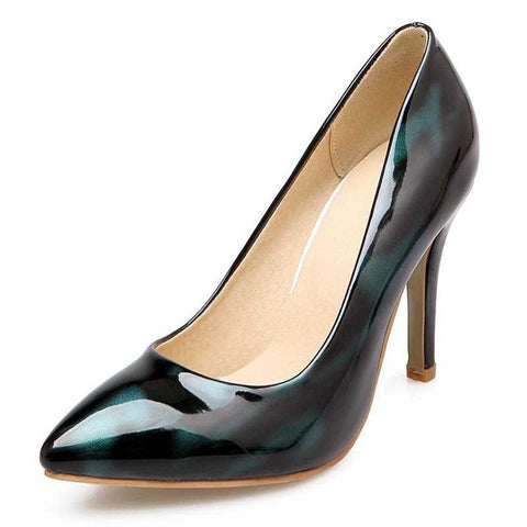 BONJOMARISA High Heel Pointed Toe