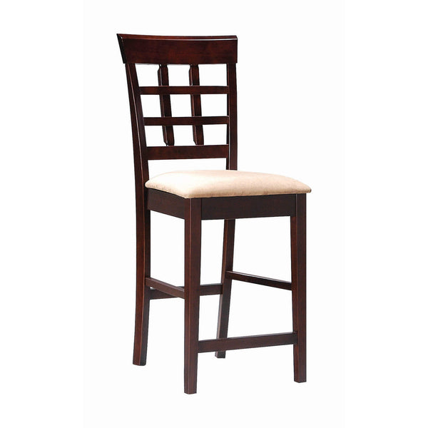 Coaster Gabriel Chestnut Counter-Height Stool-Coaster-Sleeping Giant