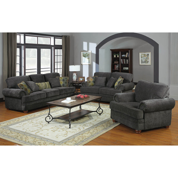 Coaster Colton Traditional Smokey Grey Collection-Coaster-Sleeping Giant