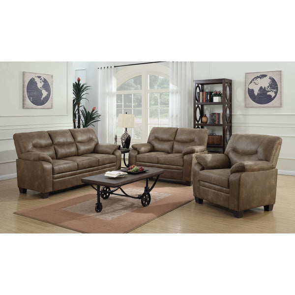 Coaster Meagan Casual Brown Collection-Coaster-Sleeping Giant